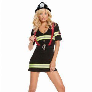 Ms. Blazin' Hot Women's Halloween Costume
